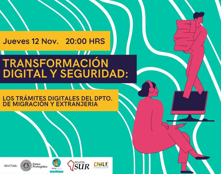 Conversatorio «Transformación digital y seguridad: Los trámites digitales del Dpto de Migración y Extranjería»